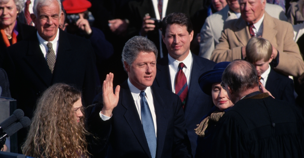bill clinton, inauguration, 1993