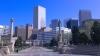 denver, skyline, civic center park, downtown denver, greek amphitheater