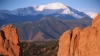 pikes peak, garden of the gods, colorado