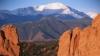 pikes peak, garden of the gods, colorado