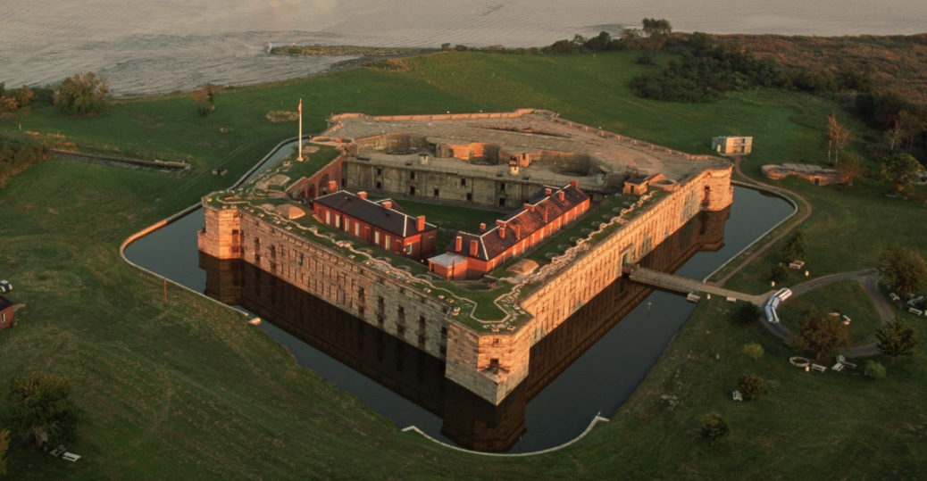 fort delaware, moat, pea patch island, delaware river, delaware city, delaware