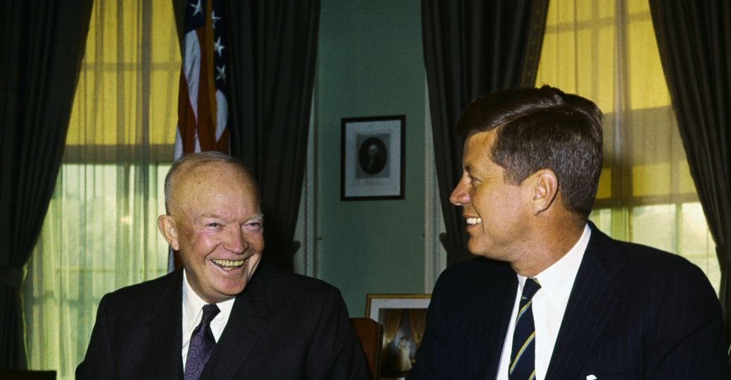 eisenhower, john f kennedy, 1969, heart failure, walter reed army hospital, marnie eisenhower