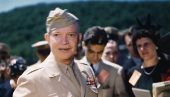 world war II, dwight d eisenhower, war hero