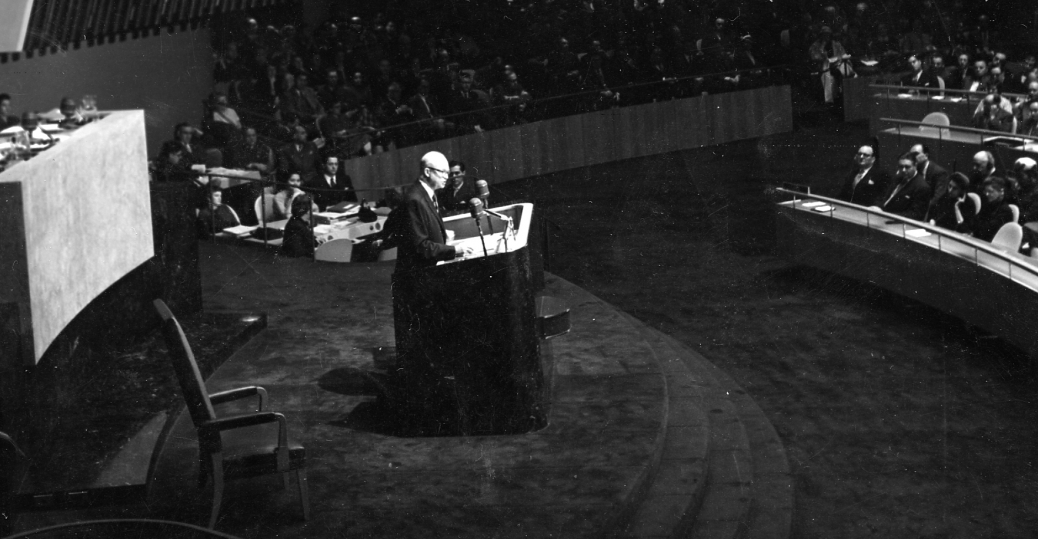 the cold war, eisenhower, the un