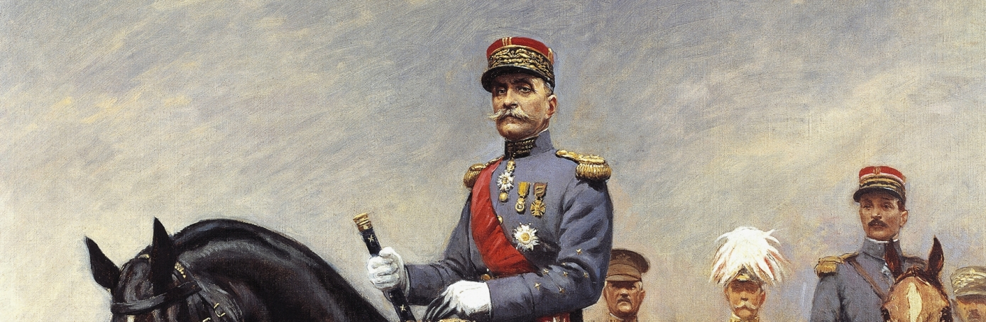 Ferdinand Foch, French soldier, WWI, World War I, Franco-Prussian War