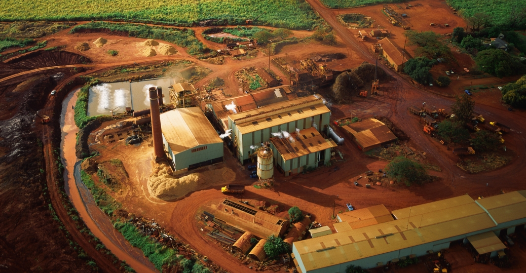 olokele, sugar mill, sugercane, hawaii