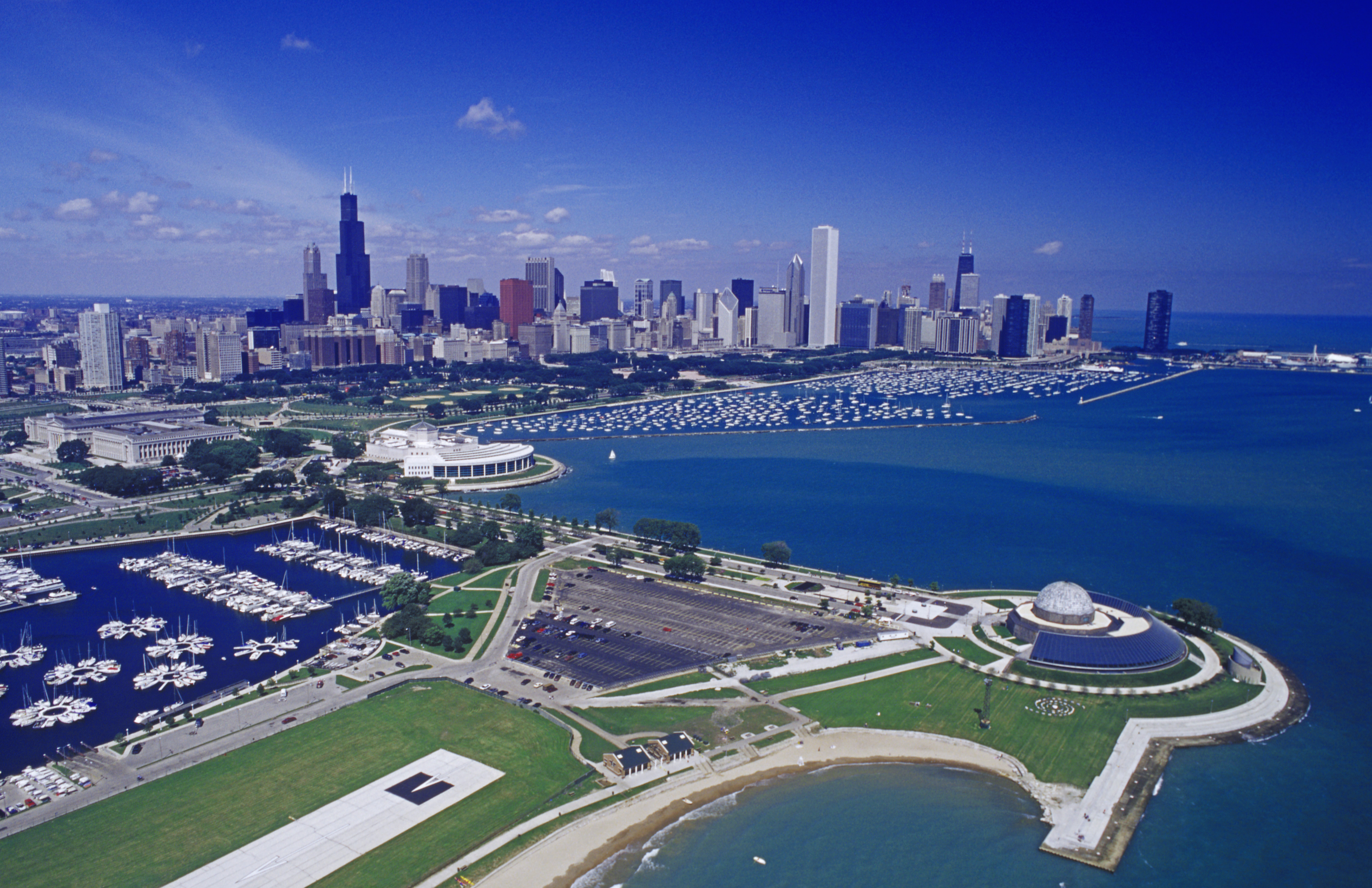 Chicago Illinois Third Largest City In The United States