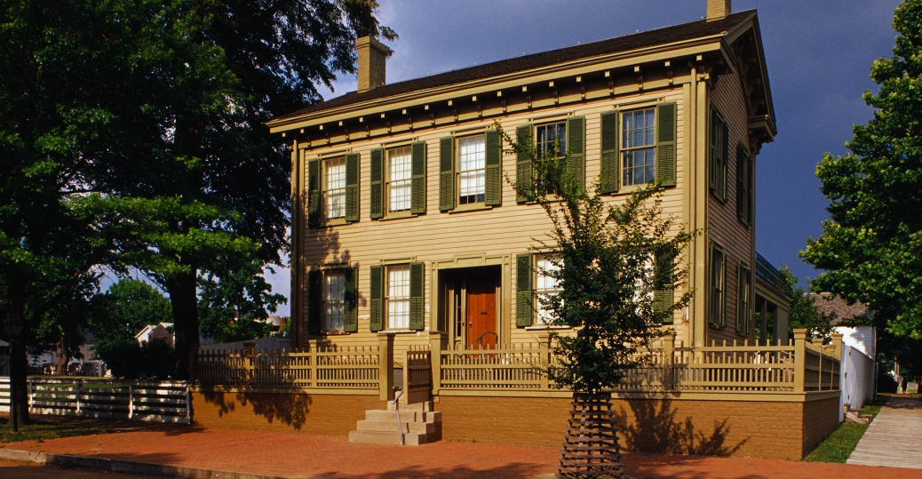 lincoln home, national historic site, springfield, illinois, abraham lincoln, 16th president of the united states