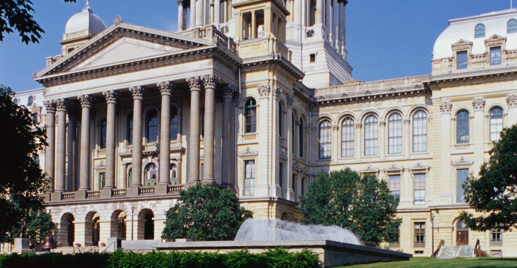 illinois, state capitol, springfield, sixth capitol