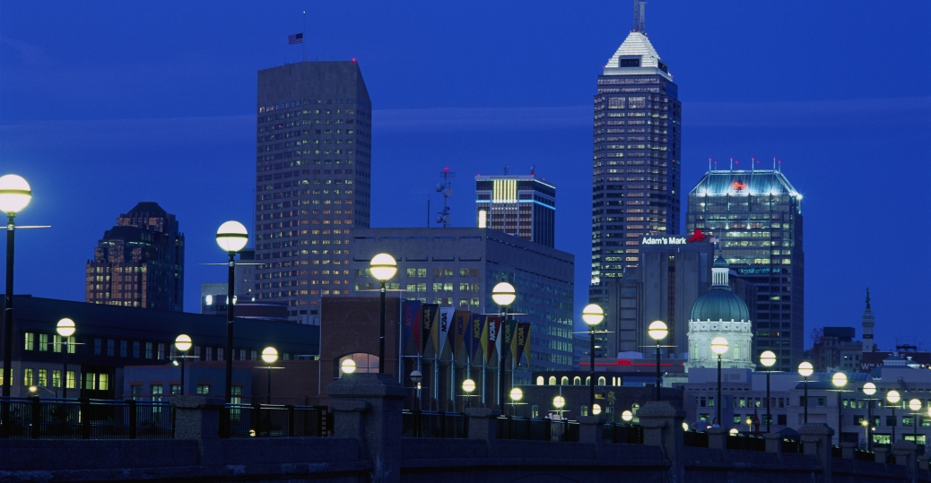indiana, 14th largest city, third largest city, state capital, indianapolis