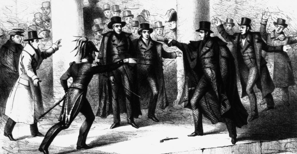attempted assassination, president andrew jackson