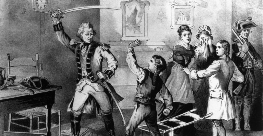 british soldier, revolution, andrew jackson