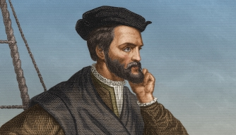 French navigator Jacques Cartier