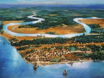 a fictional story about life in the jamestown colony It seemed certain at that time that the colony at jamestown would meet the same servant later in life jamestown in fiction a fictional romantic.