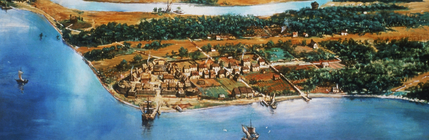 Jamestown Colony Facts Summary HISTORYcom - Jamestown on us map