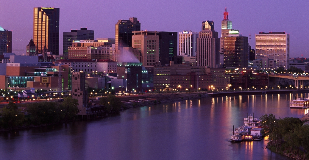 minneapolis, st paul, twin cities, capital city, largest city, minnesota