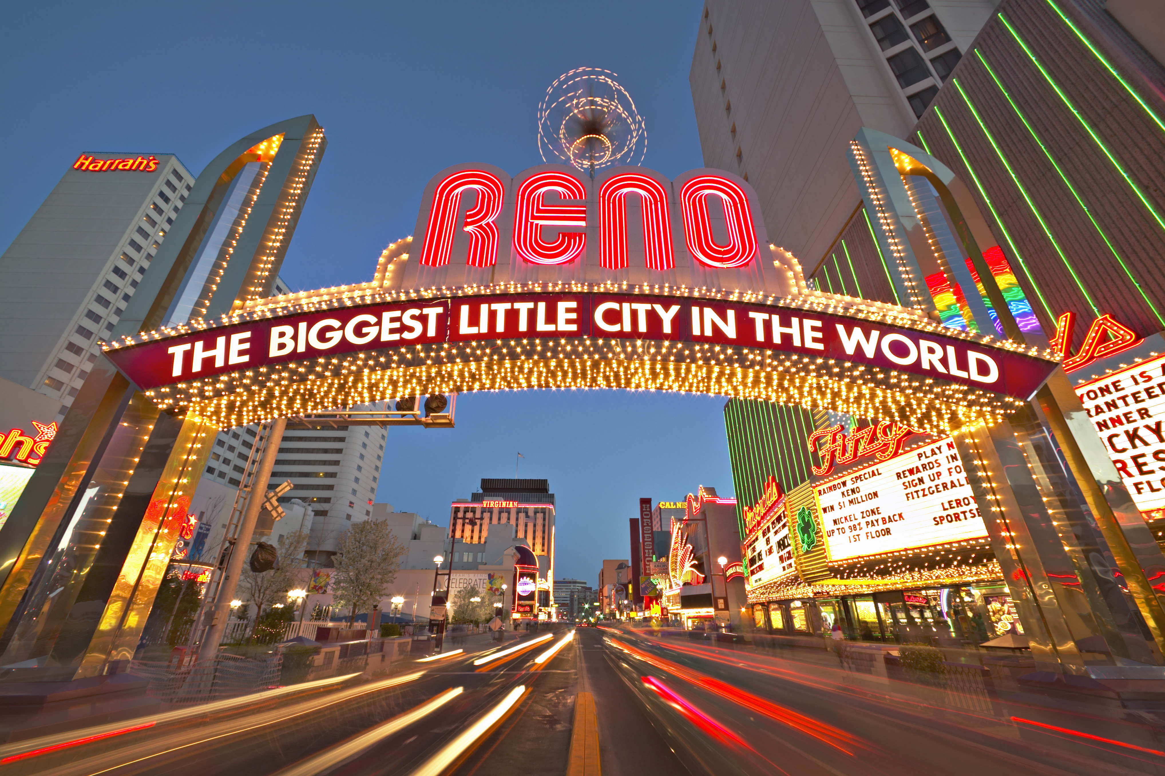 20 Years After Oklahoma City Bombing Domestic Terror Threat Remains moreover Authentic Historic Virginia City Nevada also Localmaps moreover Coolest Hotel Pools Kids Orlando Images as well Neon Arch Sign In Reno 2. on reno downtown sites