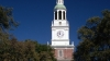 the baker memorial library, philadelphia's independence hall, dartmouth college, hanover, new hampshire