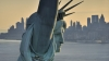 the statue of liberty, liberty enlightening the world, new york, new york harbor, october 28 1866, 100 year anniversary, declaration of independence