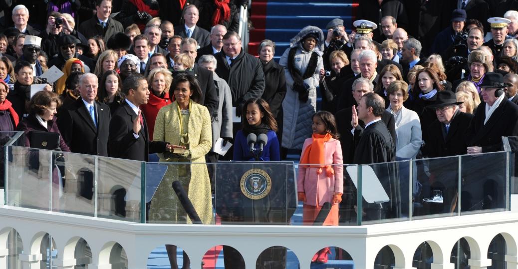 inauguration, barack obama, 2009