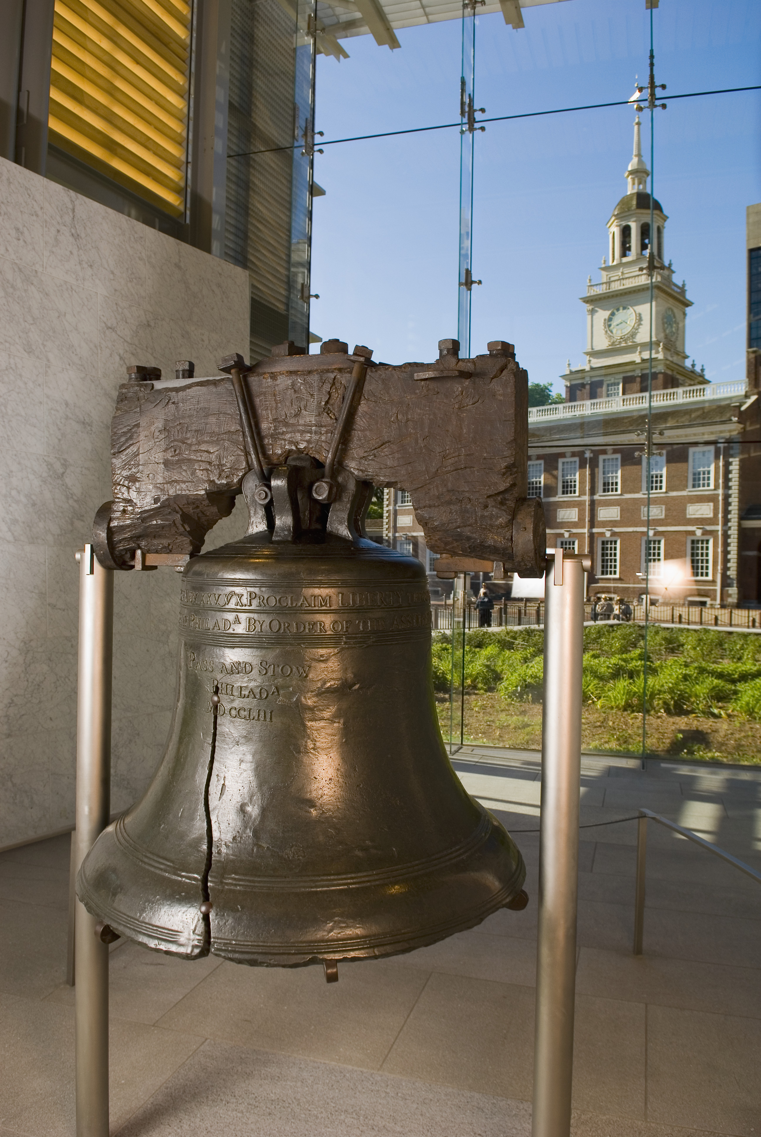 liberty bell The aspiration of this declaration is the yearning of every human heart, and it is now being expressed in a sacred space by the spoons these young women are carrying.