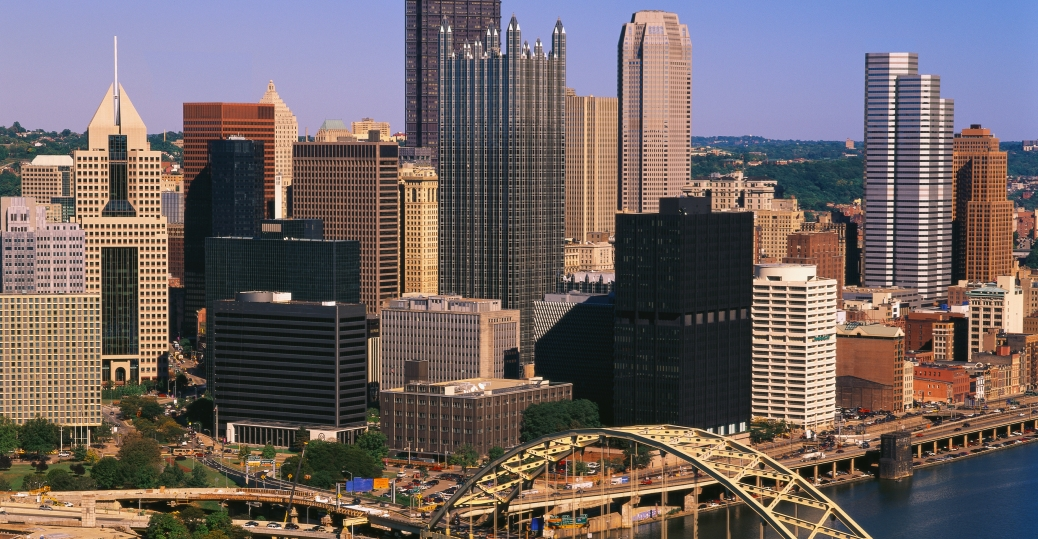 pittsburg, city, pennsylvania, second largest city, skyline