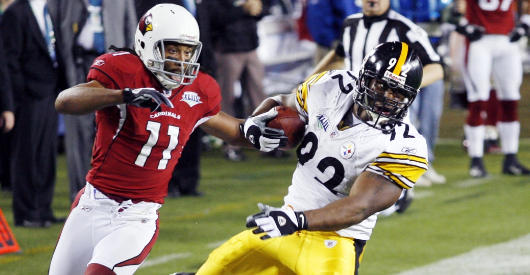 the steelers, james harrison, record, 100 yard interception, touch down, pennsylvania, football