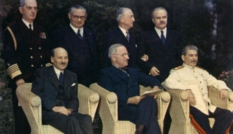 Potsdam Conference Photo