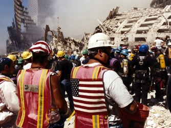 Rescue and Recovery Efforts at Ground Zero