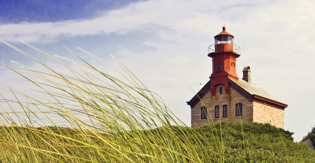 block island, lighthouse, beach, rhode island