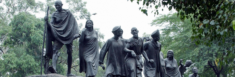 Salt March Statue