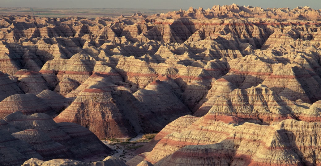 layers, rock, badlands, badlands national park, south dakota