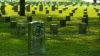 shiloh, military, national park, grave stones, civil war, battle of shiloh, tennessee