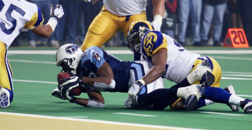 titans, tennessee, kevin dyson, super bowl xxxiv, football