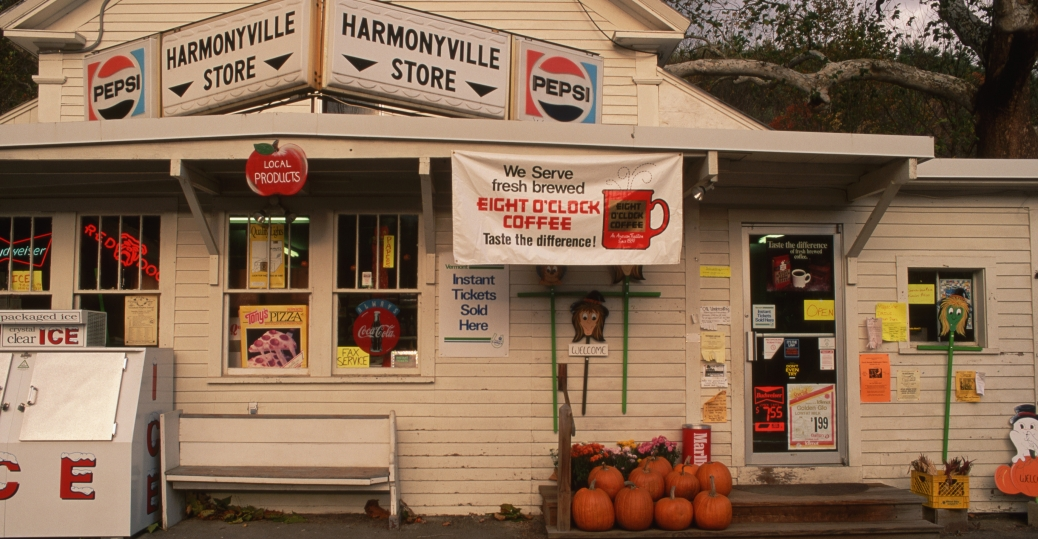 harmonyville store, general store, grocery store, townsend, vermont