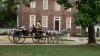 tourists, carriage, williamsburg, colonial, virginia