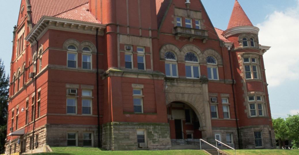 courthouse, west union, west virginia