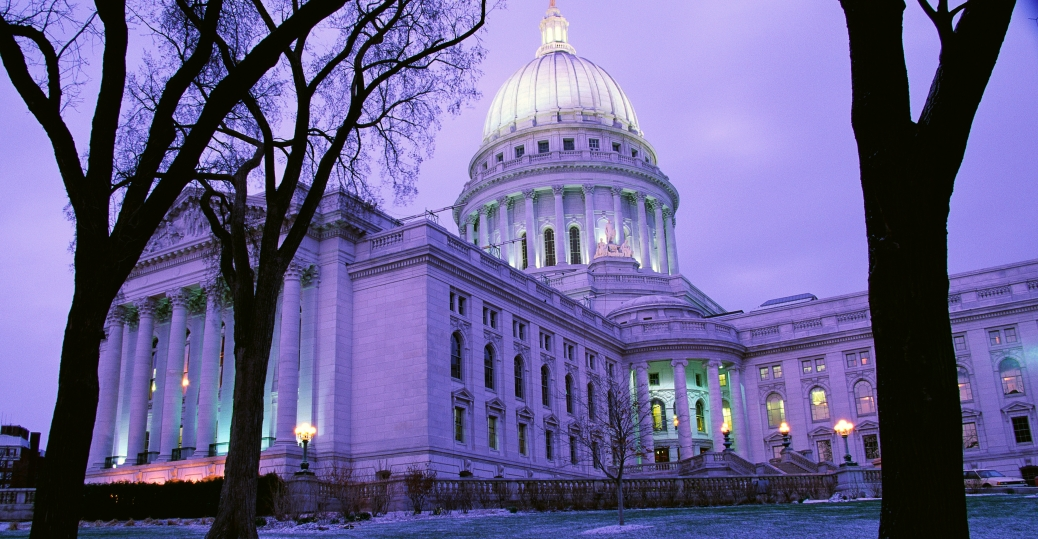 wisconsin state capitol, capitol building, wisconsin