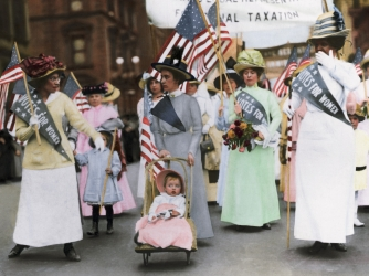 an introduction to the history of the womens suffrage movement in the united states The us women's rights movement first emerged in the 1830s, when the  ideological impact of the  subject: women's history, african american history.