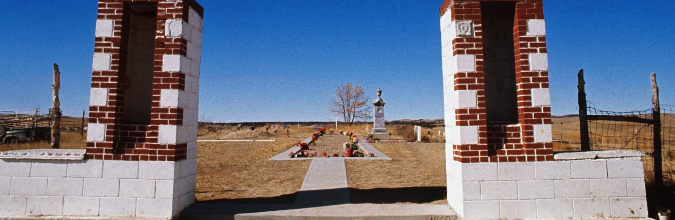 Burial Ground in Wounded Knee