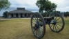 fort laramie, wyoming, oregon trail, mormon trail, cannon