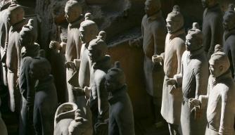 Xian Tombs of Qin Dynasty