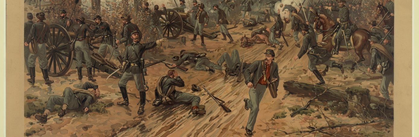 Battle of Shiloh painting