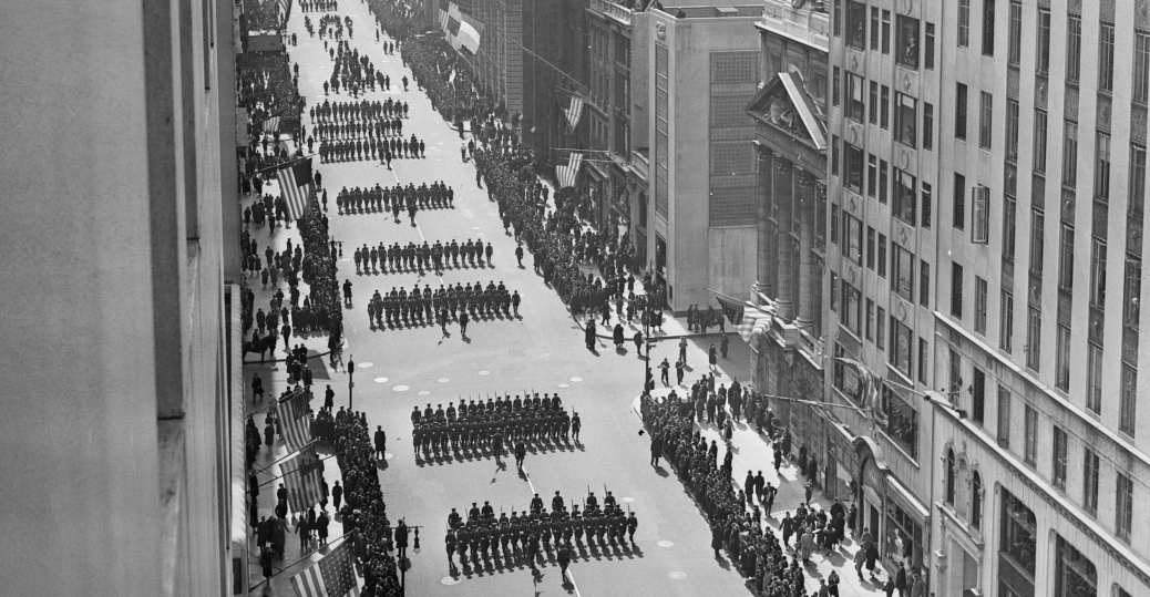st. patrick's day, st. patrick's day parade, new york city, 1939, fifth avenue