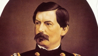 George McClellan portrait