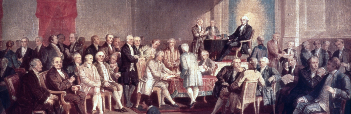 constitution facts summary com painting of the signing of the u s constitution