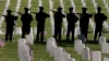 u.s. air force, rifle salute, memorial day, los angles national cemetery