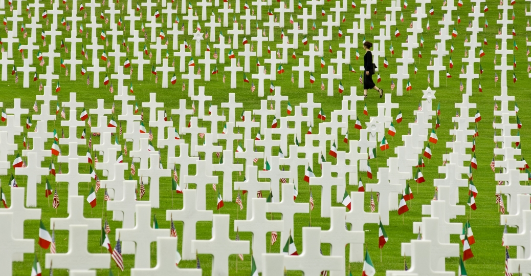 american cemetery, impruneta, italy, veterans, abroad, gravesite, memorial day
