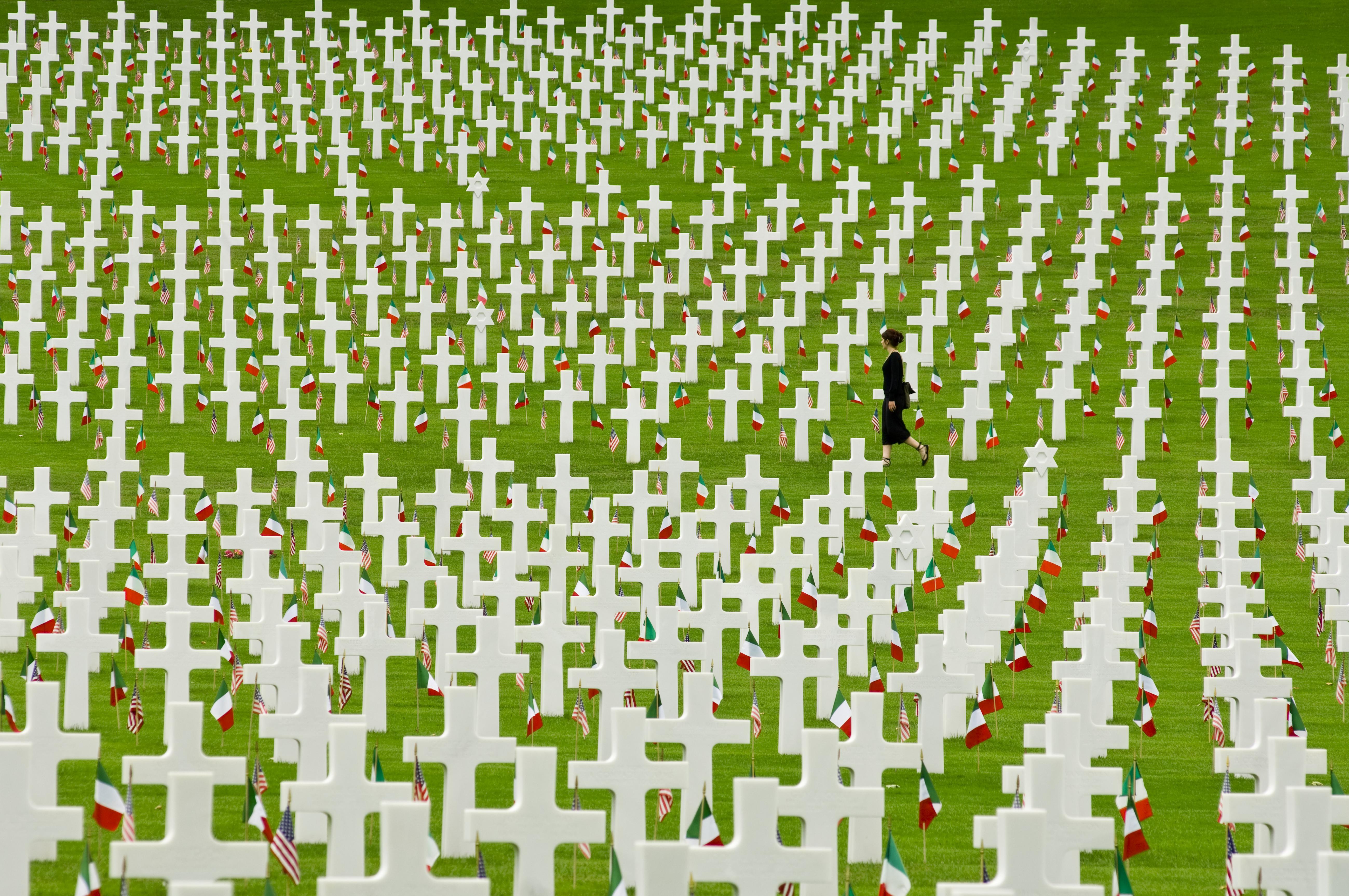 Arlington National Cemetery Memorial Day Flags