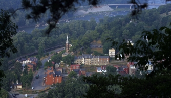 View of Harpers Ferry